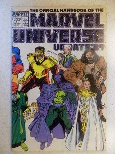 MARVEL UNIVERSE HANDBOOK # 6