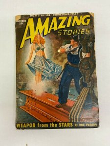 Amazing Stories Pulp October 1950