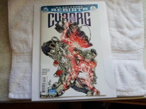 2017 DC COMICS REBIRTH OF CYBORG # 13