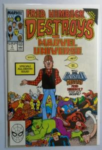 Fred Hembeck Destroys the Marvel Universe #1, 8.5/VF+ (1989)