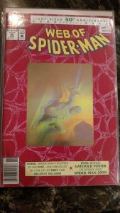 WEB OF SPIDER-MAN #90 (Marvel,1992) Condition NM+ Second Printing