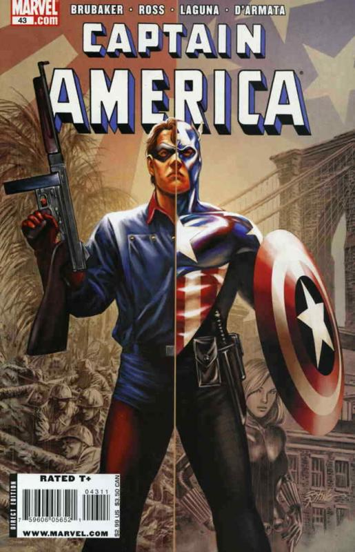 Captain America (5th Series) #43 VF/NM; Marvel | save on shipping - details insi