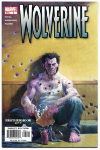 WOLVERINE #2, X-men, Darick Robertson, Rucka, 2003, NM+