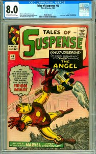 Tales of Suspense 49 (CGC 8.0) OW/W pages; 1st X-Men crossover; Kirby