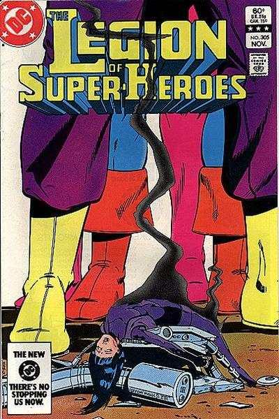 Legion of Super-Heroes (1980 series) #305, VF (Stock photo)
