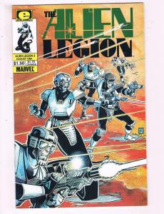 The Alien Legion #3 VF Marvel Epic Comics Comic Book 1984 DE13