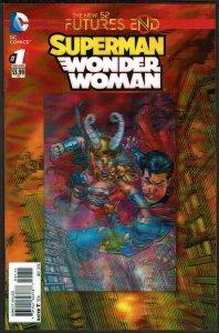 Futures End Superman/Wonder Woman 3-D Cover (2014, DC) 9.6 NM+