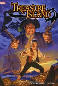 Marvel Illustrated: Treasure Island HC #1 VF/NM; Marvel   save on shipping -