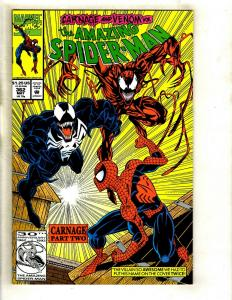Amazing Spider-Man # 362 NM Marvel Comic Book Venom Carnage Gwen MJ MaryJane GK4