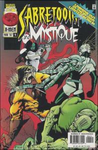 Marvel MYSTIQUE & SABRETOOTH #4 VF