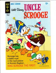 Uncle Scrooge, Walt Disney #71 (Oct-67) FN/VF+ Mid-High-Grade Uncle Scrooge