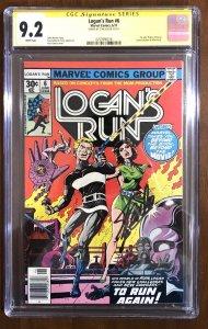 Logan's Run #6 (Marvel, 1977) KEY 1st Thanos - SS Stan Lee