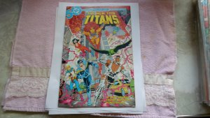 1985 DC COMICS THE NEW TEEN TITANS # 13