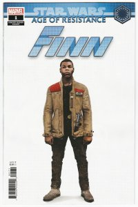 Star Wars AOR Age Of Resistance Finn #1 Concept Variant (2019) NM