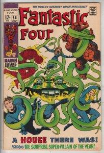 Fantastic Four #88 (Jul-69) FN/VF Mid-High-Grade Fantastic Four, Mr. Fantasti...