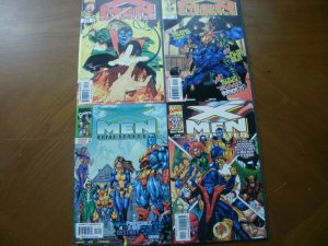 4 Near-Mint Marvel Comic: X-MEN UNLIMITED #19 21 23 25 Nightcrawler Halloween