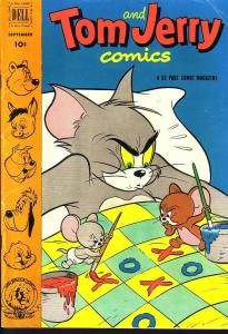 TOM & JERRY #98 M-G-M CARTOON 1952 EGYPTIAN COLLECTION VG
