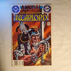 Warlord Annual 1 Very Goood