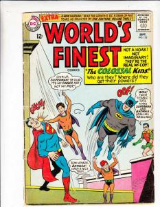 World's Finest #152 (Sep-65) VG- Affordable-Grade Superman, Batman, Robin