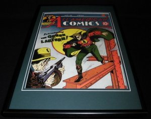 All American Comics #16 Framed Cover Poster Display Official RP Green Lantern