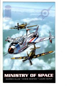 Lot Of 8 Comic Books Ministry Of Space # 1 2 3 + Kaptara # 1 2 3 4 5 JC12