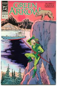 GREEN ARROW #29, NM, Mike Grell, Giordano, Seattle, 1988, more GA in store