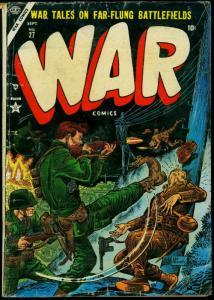 War Comics #27 1954- Maneely- Atlas- Severin- Korean War G/VG