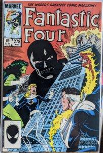 Fantastic Four #278 (1985) DR. DOOM ORIGIN STORY!!