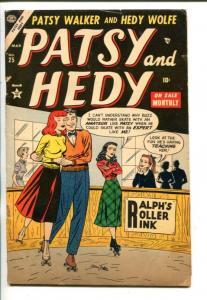 PATSY AND HEDY #25-1954-ATLAS-PATSY WALKER-HEDY WOLFE-vg