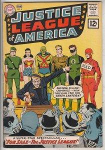 Justice League of America #8 (Jan-62) FN/VF+ High-Grade Justice League of Ame...