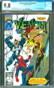Venom: Lethal Protector #4 CGC Graded 9.8 1st appearance of Scream (Donna Die...
