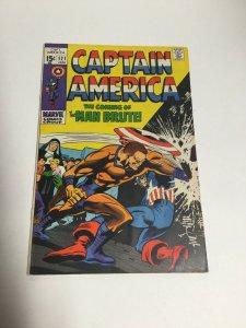 Captain America 121 Vg/Fn Very Good/Fine 5.0 Marvel Comics