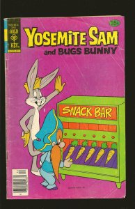 Gold Key Yosemite Sam and Bugs Bunny #57 (1978)SALVAGED>PLEASE READ NOTE<