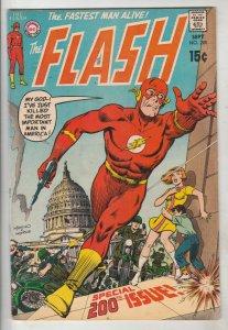 Flash, The #200 (Sep-70) VG/FN+ Mid-High-Grade Flash