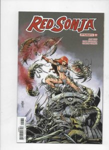 RED SONJA #22 C, VF+, She-Devil, Vol 4, Mandrake, 2018, more RS in store