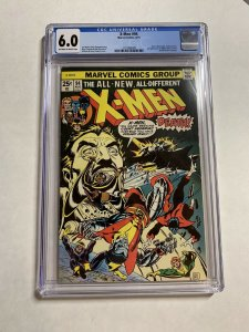 X-men 94 Cgc 6.0 Ow/w Pages Marvel Bronze 2nd New X-men