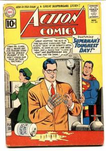 ACTION COMICS #282 comic book 1961-SUPERMAN-DC COMICS-SUPERGIRL