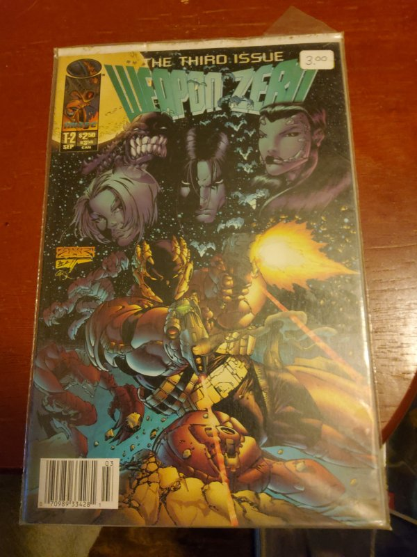 Weapon Zero #3 (1995)
