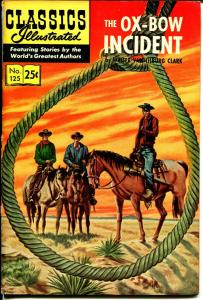 Classics Illustrated #125 1969-Gilberton-Ox-Bow Incident-HRN 169-VF