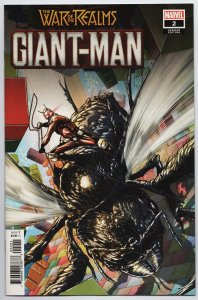 War of the Realms Giant-Man #2 Chechetto Variant (Marvel, 2019) NM [ITC1094]