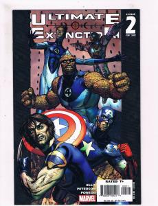 Ultimate Extinction # 2 NM Marvel Comic Books X-Men Fantastic Four Avengers! SW6
