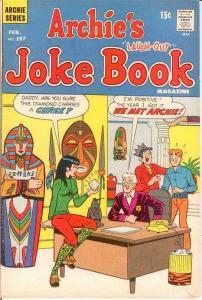 ARCHIES JOKE BOOK (1954-1982)157 F-VF Feb. 1971 COMICS BOOK