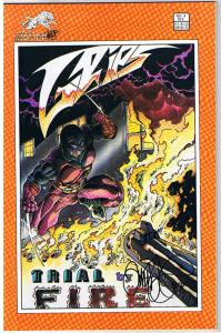 GRIPS #4 Signed by Tim Vigil, NM,  Faust, SilverWolf, 1986, more Vigil in store