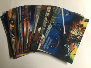 Star Wars Tops Master Visions Collector Cards Premiere Edition Complete Open