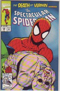 Spider-Man, Peter Parker Spectacular #196 (Jan-93) NM+ Super-High-Grade Spide...