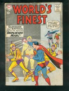 WORLD'S FINEST #106 1959-BATMAN-SUPERMAN-GREEN ARROWWW G