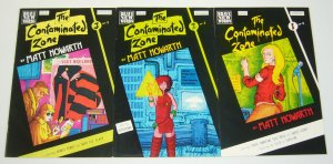 Contaminated Zone #1-3 FN complete series matt howarth savage henry post brother