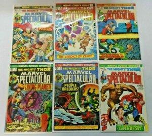 Marvel Spectacular Thor #1-18 avg 5.0 range 4.0-6.0 (1973)