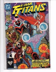 DC Comics Team Titans (1993) #5 Marv Wolfman Story Phil Jimenez Cover