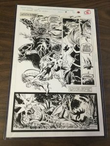 Spider-man Funeral For An Octopus Kaine Parker Peter Clone Saga Original Art 3